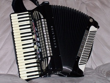 Excelsior Symphony Citation Accordion with Limex MIDI