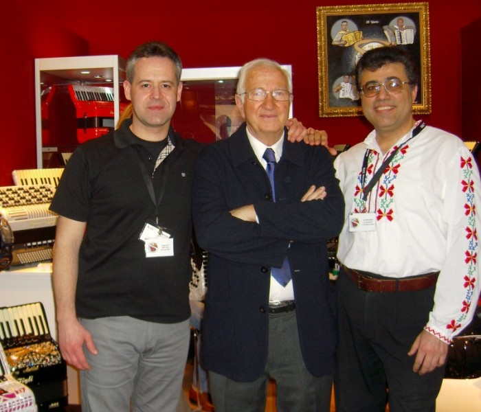 Guenadiy, Dorjan, and Amleto Dallape at Musikmesse 2010