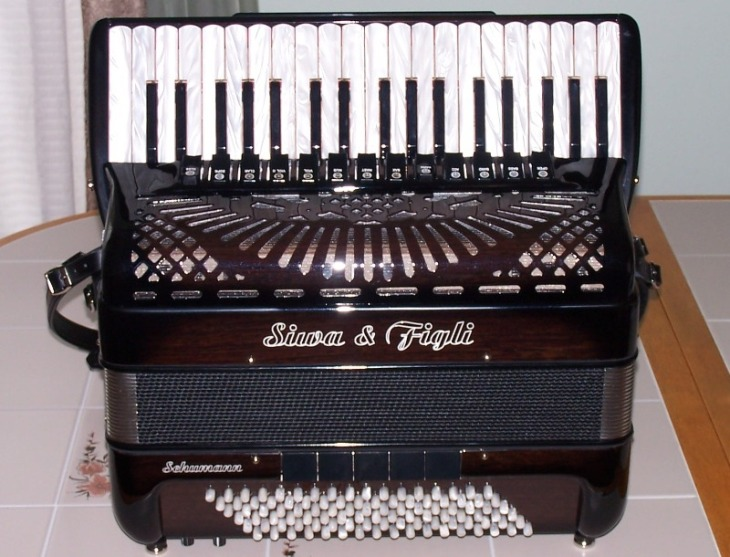 Siwa & Figli Schumann Palisander Accordion